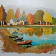 """Les barques du moulin"""