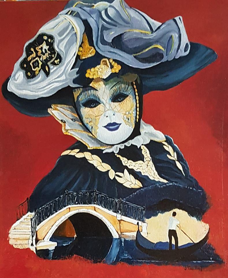 La donna azzura del ponte Borgoloco
