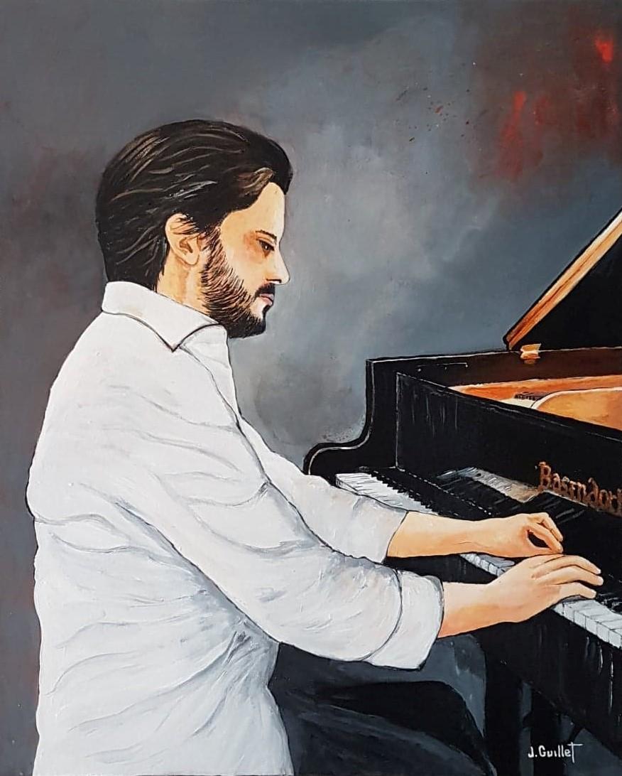 L'étude du pianiste (inspiré du pianiste Aimo Pagin)