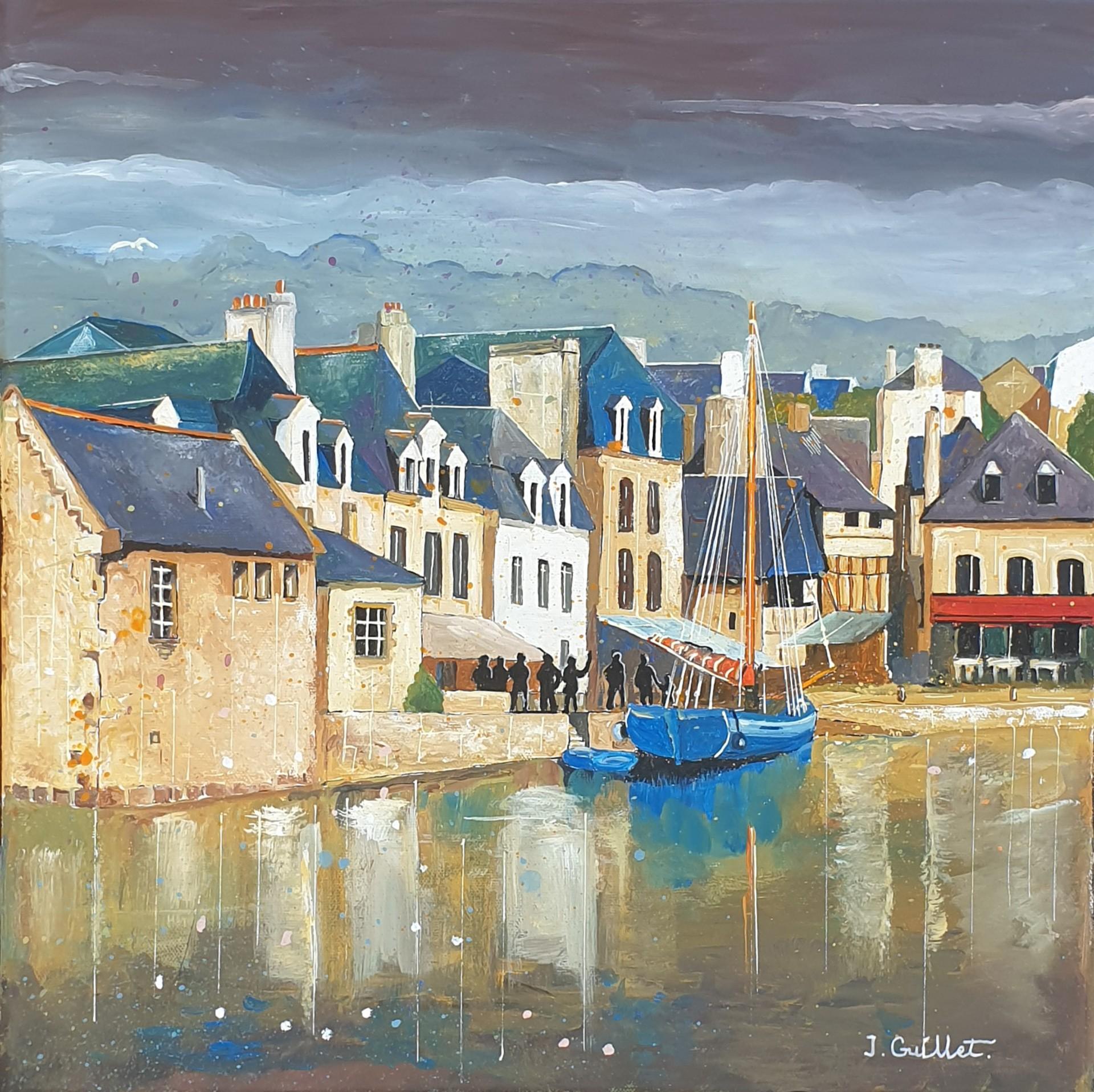 Auray - le port de Saint Goustan