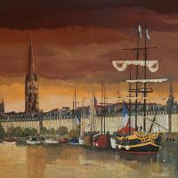 Bordeaux port de la lune