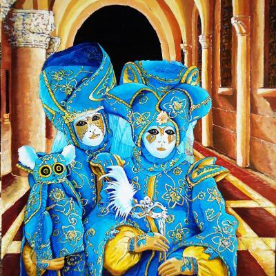 Carnaval en bleu