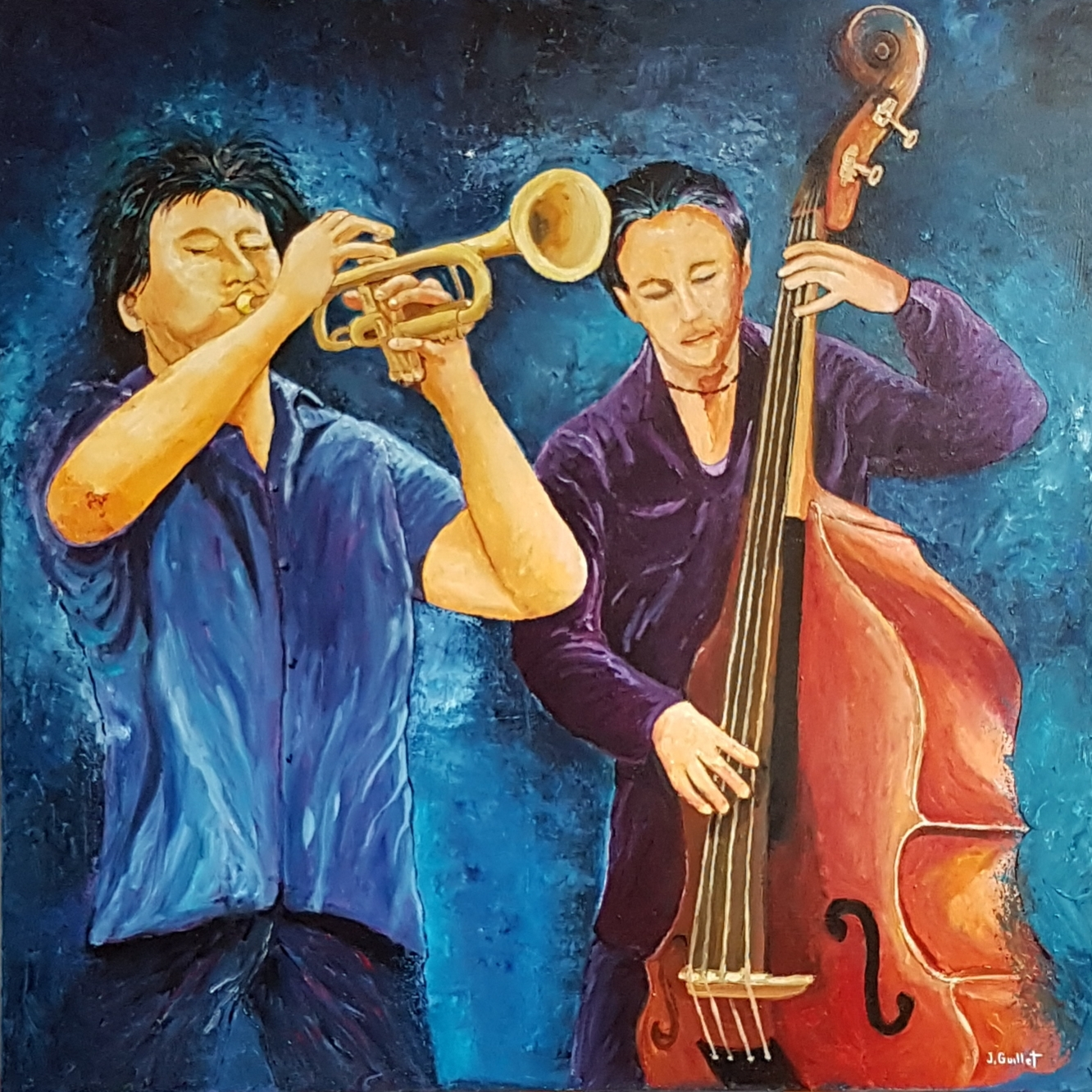 Duo jazzy 80 x 80
