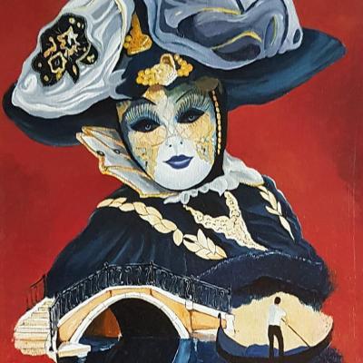 La donna azzura del ponte borgoloco 1