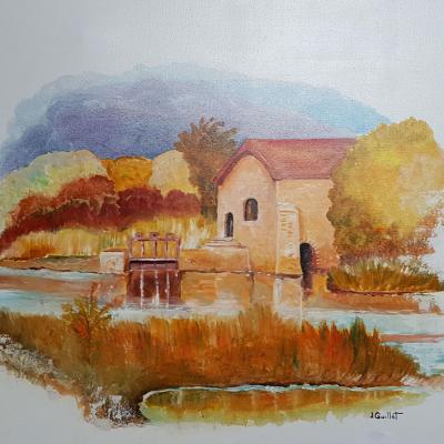 Le moulin du gue de mesnil