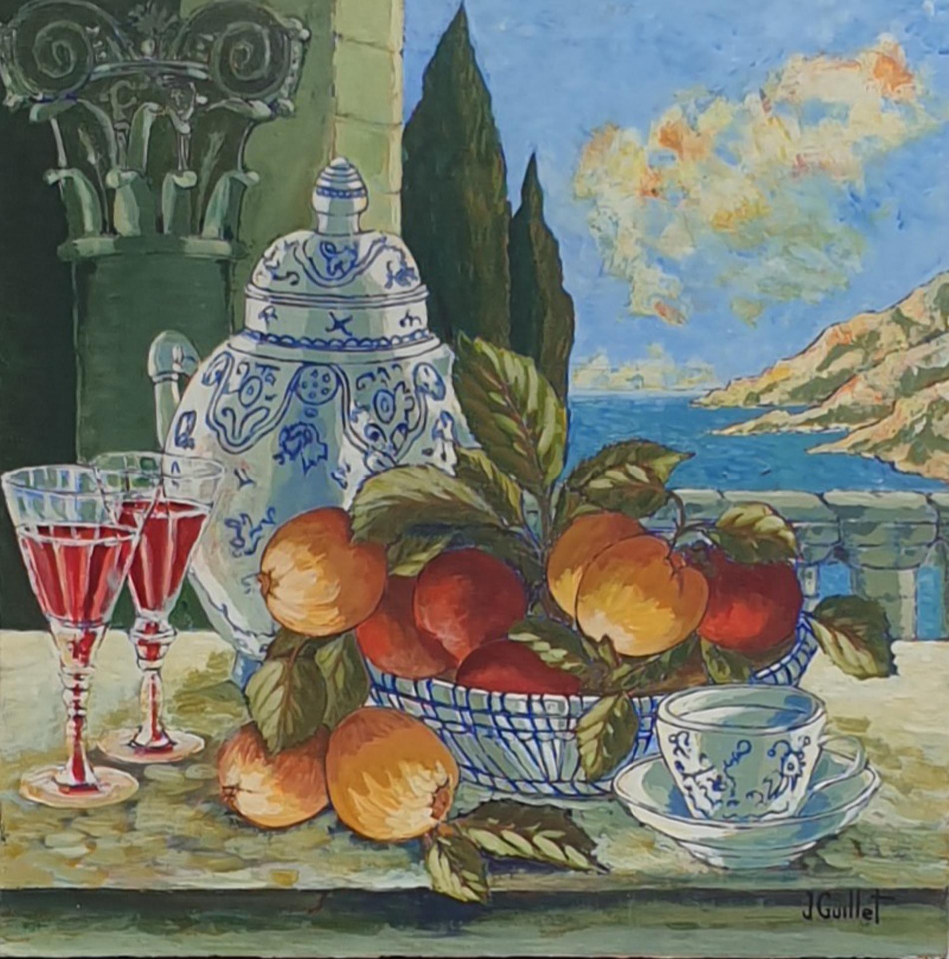 Porcelaines et pommes 1