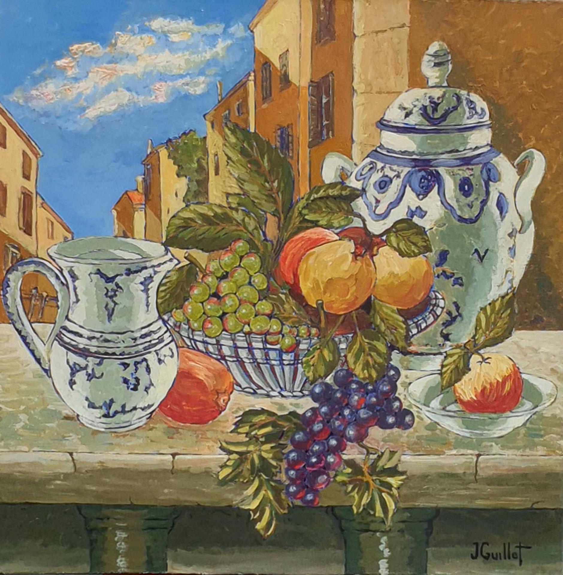 Porcelaines et raisins 1